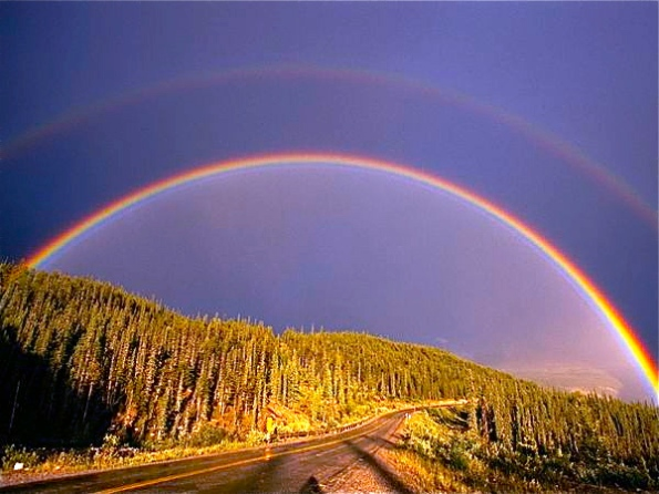Awesome Double Rainbow!