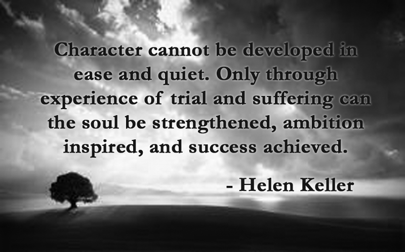 Character quote of the day 147 christopher spiewak on life dramatic sky helen keller quote1 altavistaventures Image collections